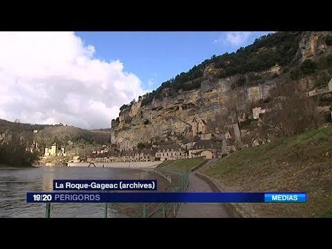 LA ROQUE-GAGEAC au concours du Village préféré des Français