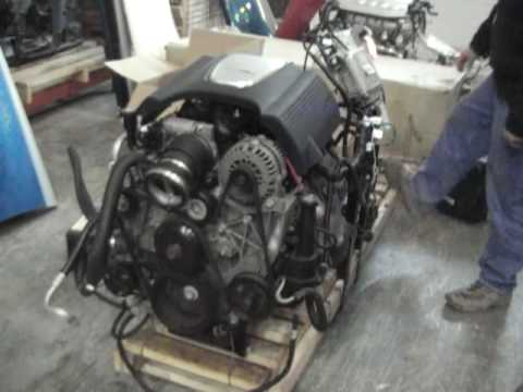 2004 SSR Engine Conversion LM4 5.3 LIter. - YouTube