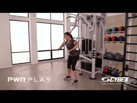 Cybex PWR PLAY - Reciprocal Supported Chest Press