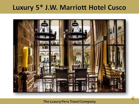 J.W. Marriott Hotel Cusco Peru by The Luxury Peru Travel Company