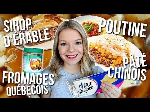 ALIMENTATION AU QUÉBEC 🥓🍟🍎 | Que mangent les Québécois? 🍴