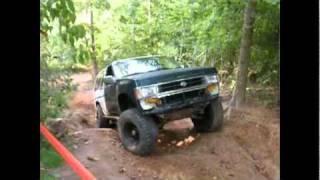 87 Nissan Pathfinder at Gulches ORV