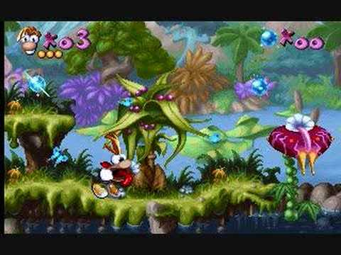 Rayman Music - Dream Forest