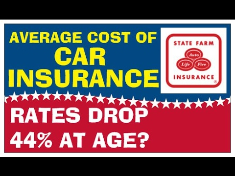 AVERAGE Car Insurance Rates By Age | AGE Car Insurance Goes Down 44%
