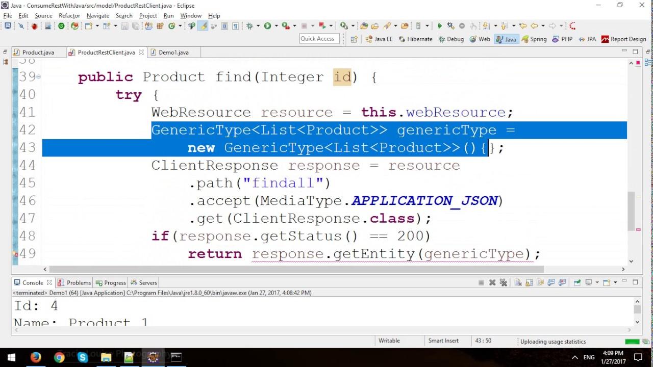 CRUD REST API using Nodejs, Express, and MySQL Database with Java Console  Application