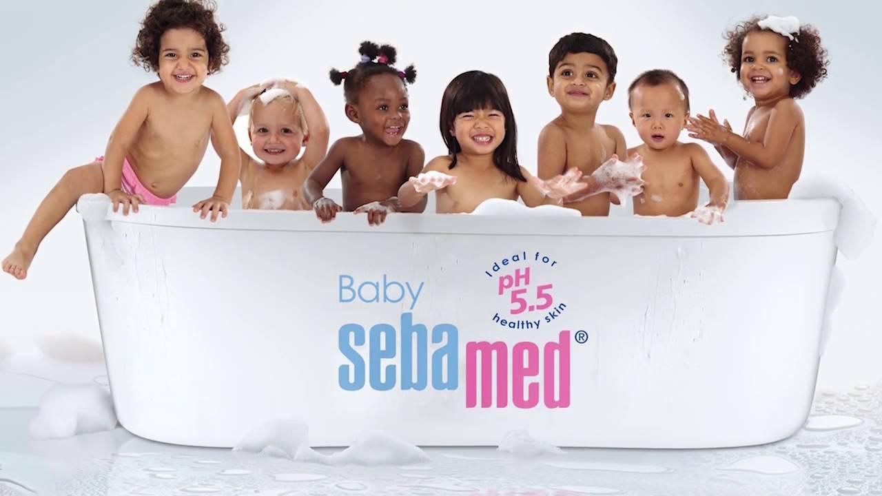 Kết quả hình ảnh cho sebamed baby tvc