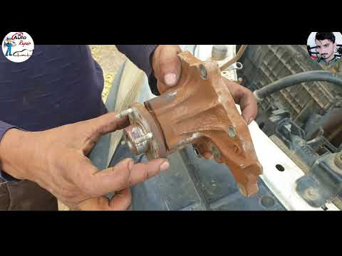 how to replace water pump ISUZU D_max 4HJ1 work in Urdu/Hindi  #MM_Auto_Repair