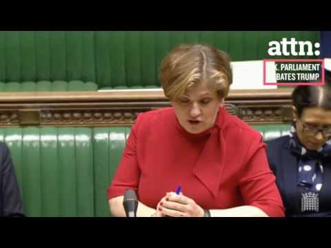 UK Parliament wants Trump to repeal his Executive Order - 01/30/17