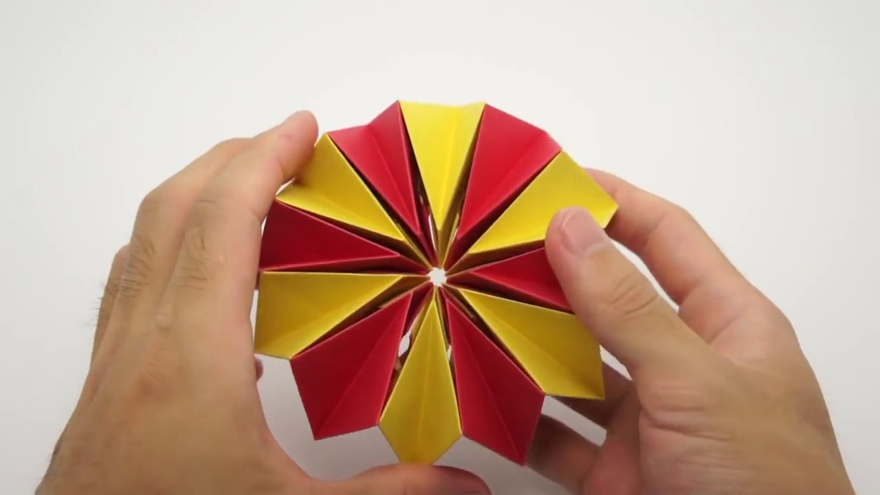 How To Make Paper Fire Works Youtube