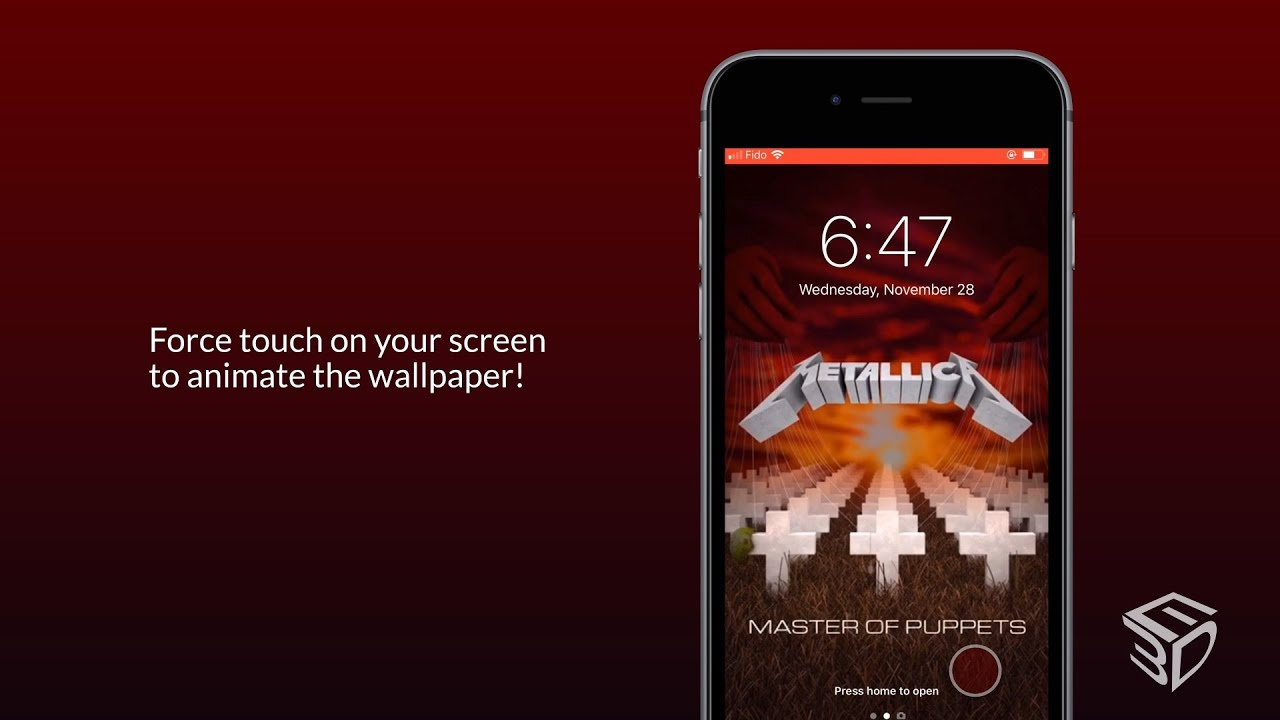 Tutorial | Metallica Animated Wallpapers for iOS