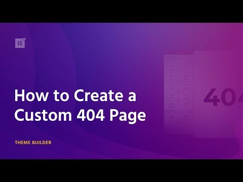 How To Create A Custom 404 Page