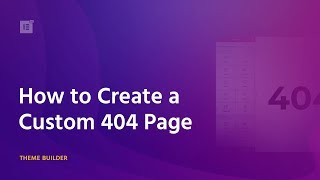 [1,022.41 KB] How to Create a Custom 404 Page