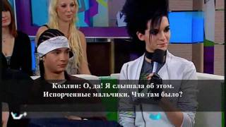 Tokio Hotel at Viva Live 02/10/2009 Part 1/2 (Russian subs)