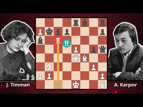 Great Scotch! Karpov Counterattacks - Timman vs. Karpov, 1984 - Best Chess Games