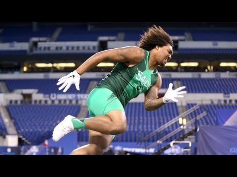 Leonard Williams (USC, DT) 2015 NFL Combine Highlights