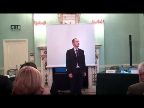 Michael Ronayne at the EnglishSpeaking Union on May 24th 2012.