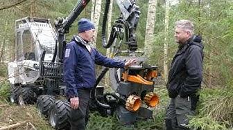 Usewood Combi Master - Anders köpte egen skogsmaskin