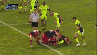 Tuisova (The Bulldozer) first try 2017 against Sale Sharks.