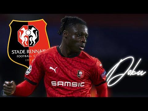 JÉRÉMY DOKU • Stade Rennes • Unreal Skills, Dribbles, Goals & Assists • 2021