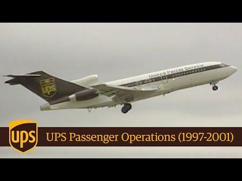 UPS Passenger Operations 1997-2001