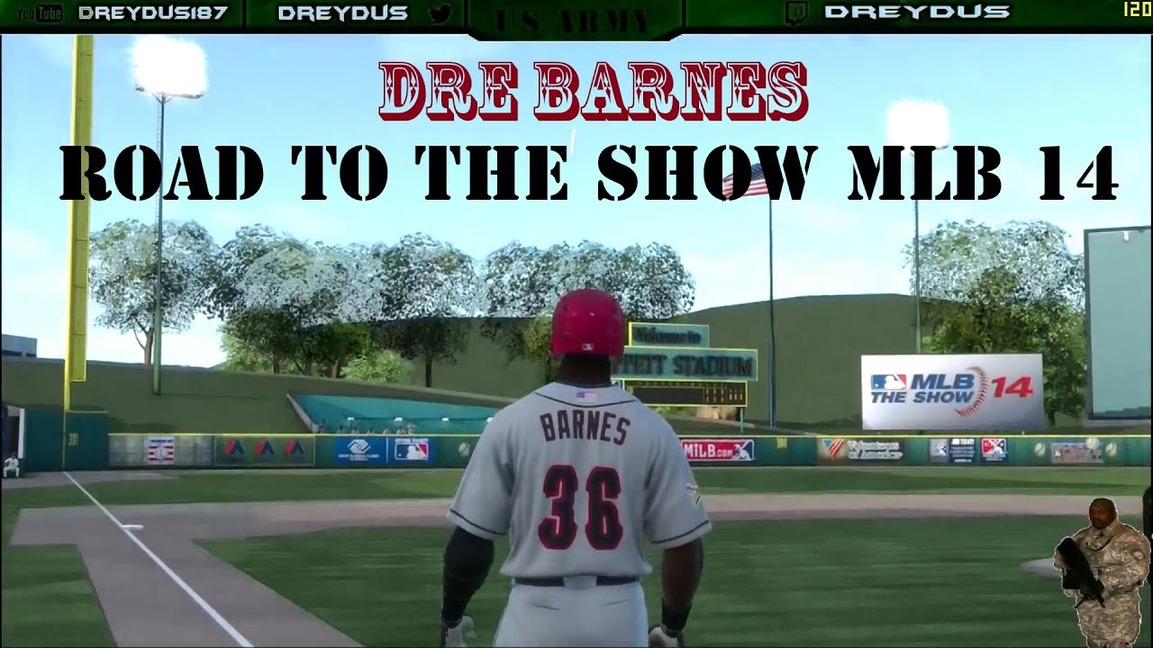 MLB 14 The Show Road To The Show Drey Barnes 3B Tigers ...