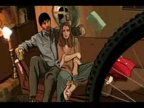 Scanner Darkly Bike Scene