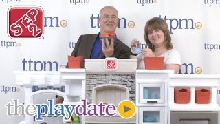 The Playdate Win The Grand Luxe Kitchen From Step2 Youtube