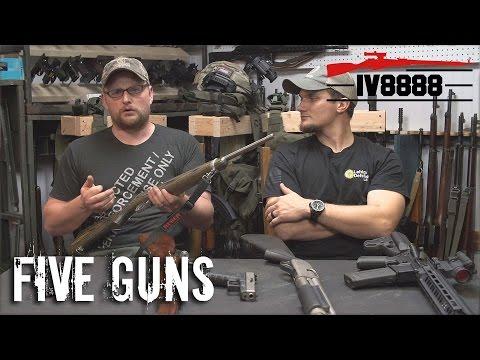 Top 5 Guns For the New Gun Owner