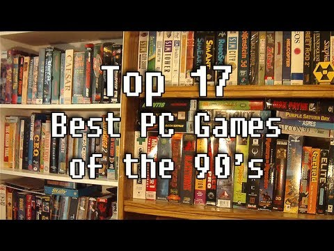 LGR - Top 17 Best PC Games of the 90's