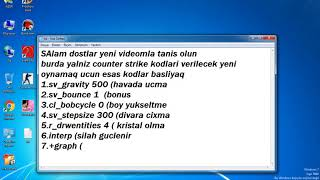 Counter Strike 1.5 Esas Kodlar