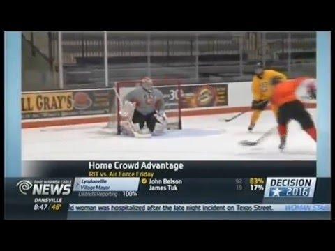 RIT on TV: Men's hockey to defend Atlantic Hockey crown