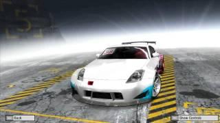 Need For Speed Pro Street 350Z Customization
