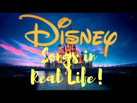 Disney Songs In Real Life!! 1 Year Yanziversary!! | Yanz
