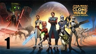 Star Wars: The Clone Wars - Republic Heroes - Прохождение Часть 1 (PC)
