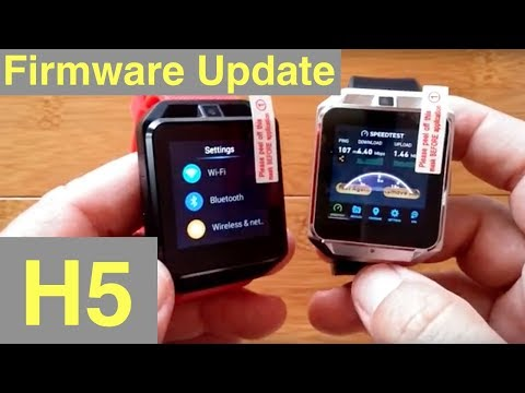 Microwear H5 Smartwatch Firmware Update: 4G cellular for USA?