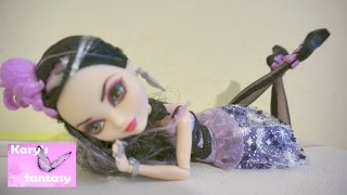 Кукла Ever After High Дачес Свон танцует Unboxing Ever After High Duchess Swan Doll
