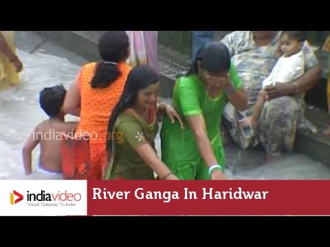 River Ganga in Haridwar, Uttarakhand