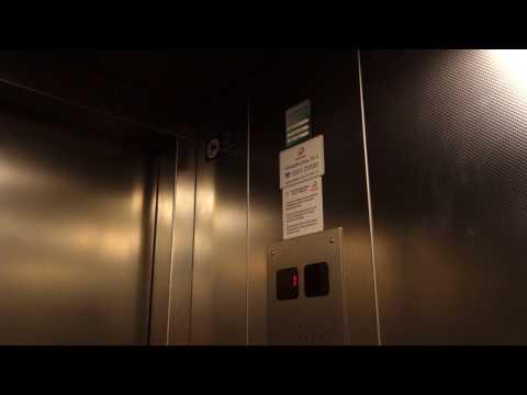 1999 Schindler Traction Elevators @ Kluuvi Parking Garage, Helsinki, Finland.