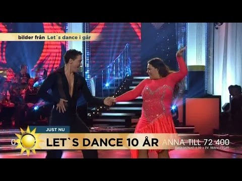 Anna Books dansande tog slut i Let´s Dance - Nyhetsmorgon (TV4) thumbnail
