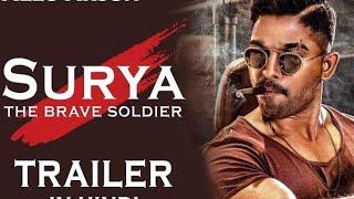 Surya   The Brave Soldier 2018 Naa Peru Surya Naa Illu India   Hindi Dubbed Tr HD