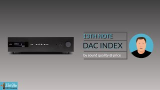 13th Note DAC Index (in 35 seconds)