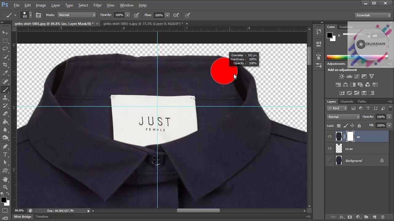 Adobe Photoshop CS6 – Ghép Áo 3D trong Photoshop