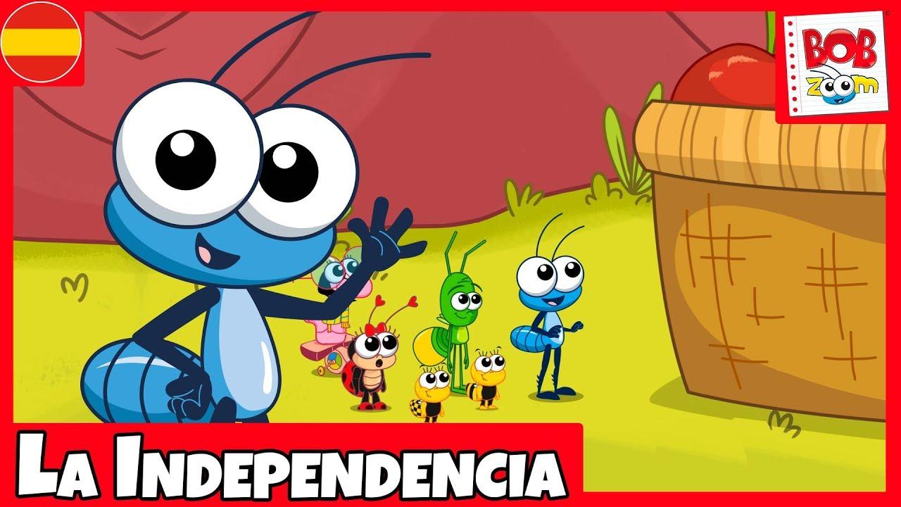 La Independencia l Bob Zoom l Video Canción Infantil Español