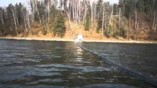 Подводная прокладка кабеля: Телецкое озеро, 2013 г.(, 2013-12-16T16:49:55.000Z)