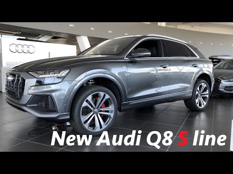 audi q8 s line suv 2019 first quick look in 4k youtube. Black Bedroom Furniture Sets. Home Design Ideas