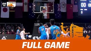 Kyrgyzstan v India | Full Game | FIBA 3x3 Asia Cup 2017