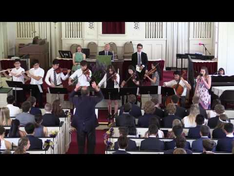 Gould Academy Baccalaureate Ceremony 2016