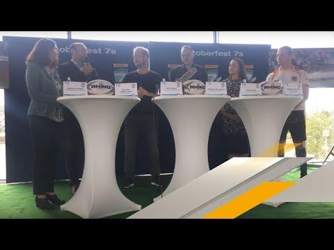 ReLive | Pressekonferenz des Oktoberfest 7s | Rugby | SPORT1