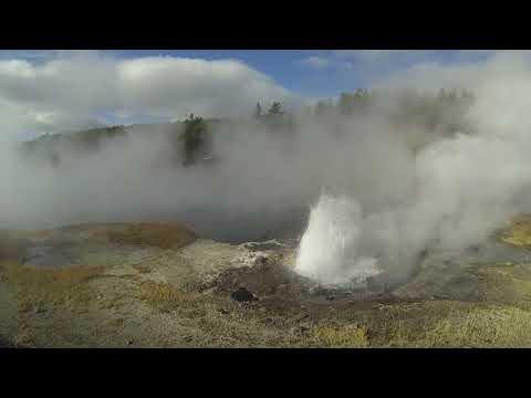 Phonography : Artesia Geyser, Yellowstone NP, Wyoming (44.544144, -110.784197)