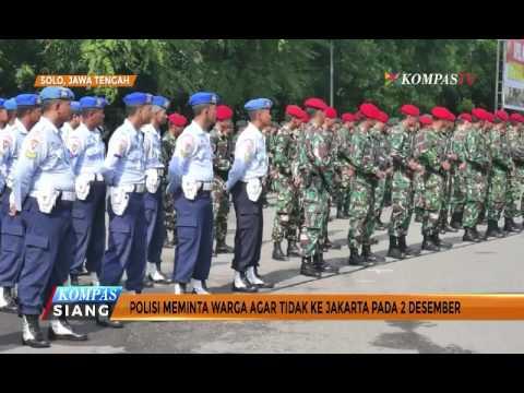 Polisi Antisipasi Massa Berangkat Demo Ke Jakarta